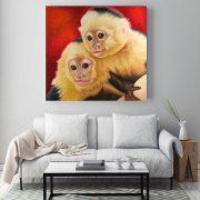 Capuchin-Monkeys-in-situ-living-room-metal-web
