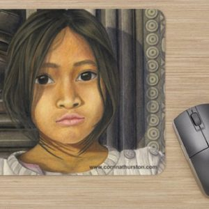 Cambodia-Girl-Mousepad