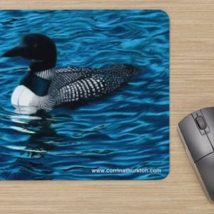Common-Loon-Mousepad