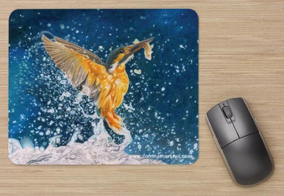 Kingfisher-Mousepad