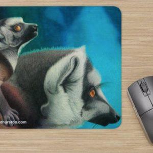Lemurs-Mousepad