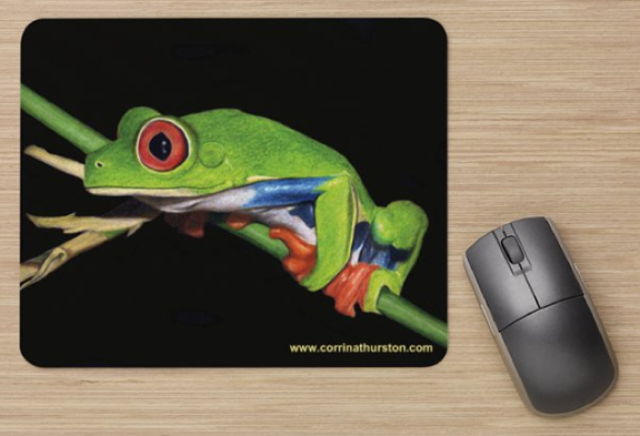 Red-Eyed-Tree-Frog-Mousepad