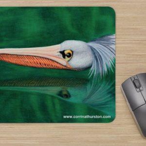 Swooping-Pelican-Mousepad