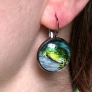 green-frog-earring-1