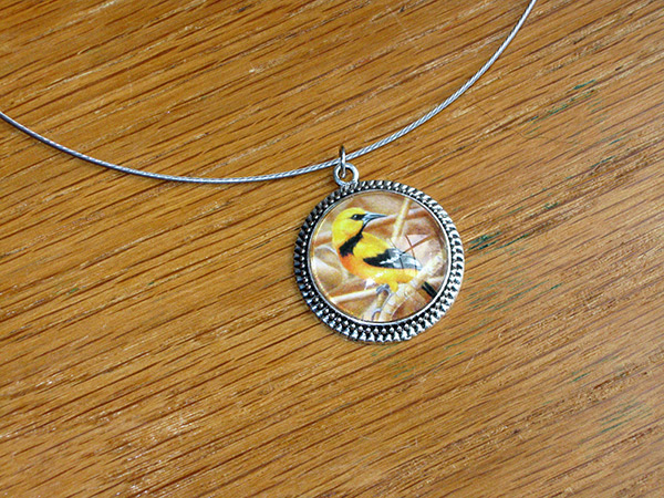 hooded-oriole-necklace