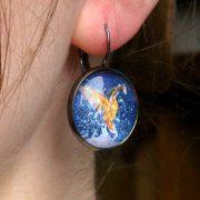 kingfisher-earring