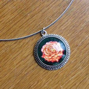 orange-rose-necklace