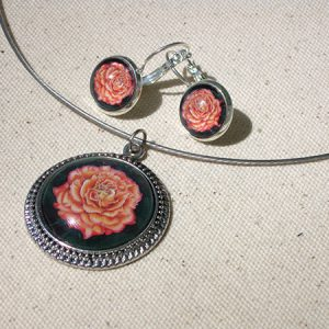orange-rose-set