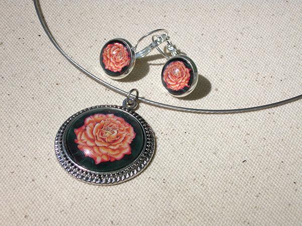 orange-rose-set