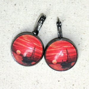 red-ocean-sunset-earrings