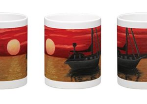 red-ocean-sunset-mug-600