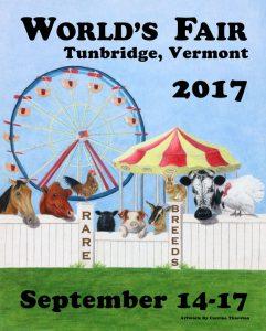The Tunbridge World's Fair Poster commission.
